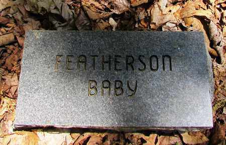 FEATHERSON, BABY - Wayne County, Tennessee | BABY FEATHERSON - Tennessee Gravestone Photos
