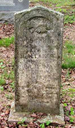 GALLAHER, JOSEPH H. G. - Wayne County, Tennessee | JOSEPH H. G. GALLAHER - Tennessee Gravestone Photos
