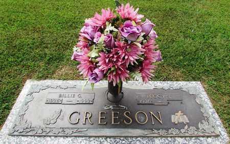 GREESON, BILLIE C. - Wayne County, Tennessee | BILLIE C. GREESON - Tennessee Gravestone Photos