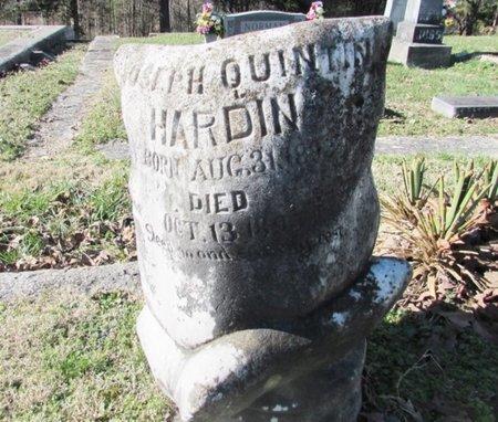 HARDIN, JOSEPH QUINTIN - Wayne County, Tennessee | JOSEPH QUINTIN HARDIN - Tennessee Gravestone Photos