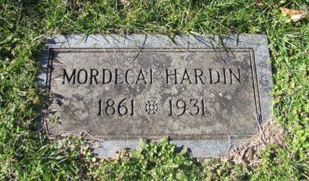 HARDIN, MARDECAI - Wayne County, Tennessee | MARDECAI HARDIN - Tennessee Gravestone Photos