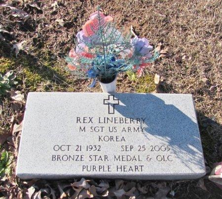 LINEBERRY (VETERAN KOR), REX - Wayne County, Tennessee   REX LINEBERRY (VETERAN KOR) - Tennessee Gravestone Photos