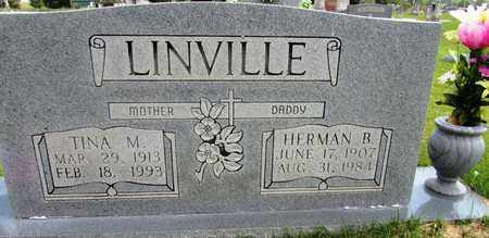 LINVILLE, HERMAN B. - Wayne County, Tennessee | HERMAN B. LINVILLE - Tennessee Gravestone Photos