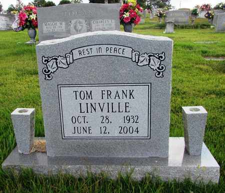 LINVILLE, TOM FRANK - Wayne County, Tennessee | TOM FRANK LINVILLE - Tennessee Gravestone Photos
