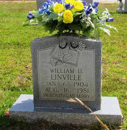 LINVILLE, WILLIAM D. - Wayne County, Tennessee | WILLIAM D. LINVILLE - Tennessee Gravestone Photos