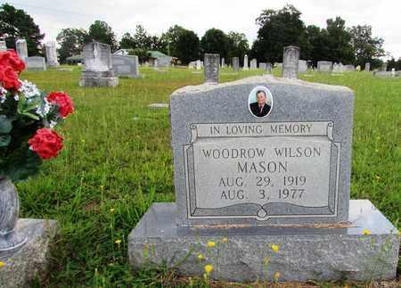 MASON, WOODROW WILSON - Wayne County, Tennessee | WOODROW WILSON MASON - Tennessee Gravestone Photos