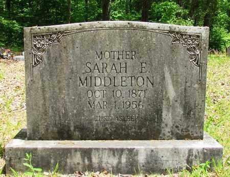 DAVIS MIDDLETON, SARAN E. - Wayne County, Tennessee | SARAN E. DAVIS MIDDLETON - Tennessee Gravestone Photos