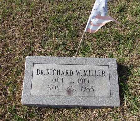 MILLER, RICHARD W. - Wayne County, Tennessee | RICHARD W. MILLER - Tennessee Gravestone Photos