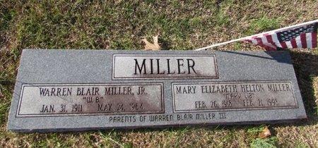 MILLER, MARY ELIZABETH - Wayne County, Tennessee | MARY ELIZABETH MILLER - Tennessee Gravestone Photos
