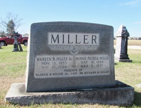 PATRICK MILLER, MINNIE - Wayne County, Tennessee | MINNIE PATRICK MILLER - Tennessee Gravestone Photos