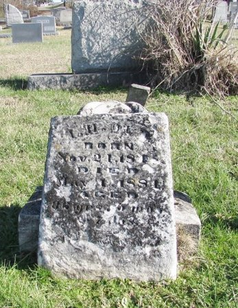OLD, ISAAC H. - Wayne County, Tennessee | ISAAC H. OLD - Tennessee Gravestone Photos