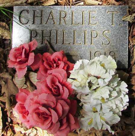 PHILLIPS, CHARLIE T. - Wayne County, Tennessee   CHARLIE T. PHILLIPS - Tennessee Gravestone Photos