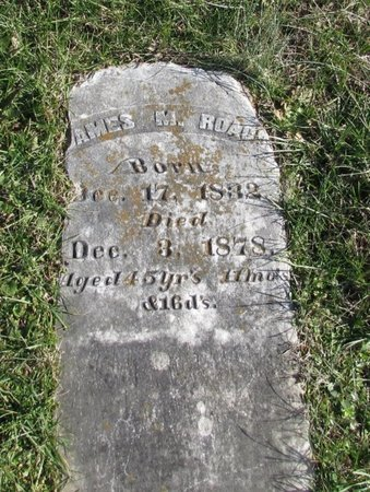 ROACH, JAMES M. - Wayne County, Tennessee | JAMES M. ROACH - Tennessee Gravestone Photos