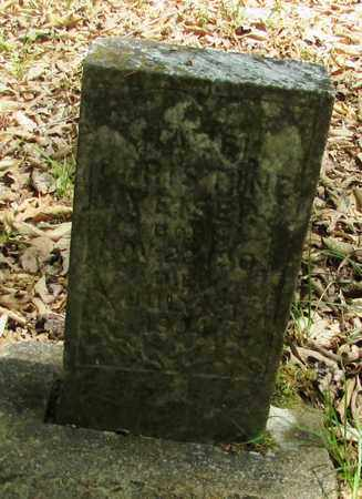 YEISER, HAZEL CHRISTINE - Wayne County, Tennessee | HAZEL CHRISTINE YEISER - Tennessee Gravestone Photos