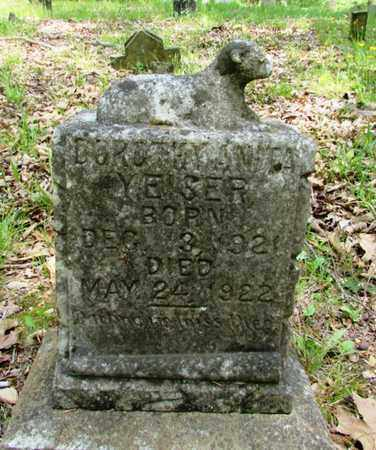 YEISER, DOROTHY ANITA - Wayne County, Tennessee | DOROTHY ANITA YEISER - Tennessee Gravestone Photos