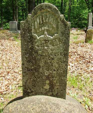 YEISER, MARY M. - Wayne County, Tennessee | MARY M. YEISER - Tennessee Gravestone Photos