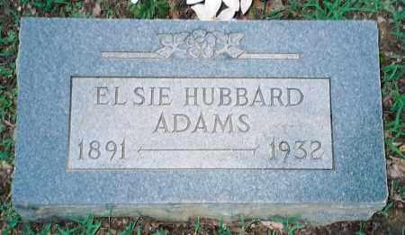 ADAMS, ELSIE - Weakley County, Tennessee | ELSIE ADAMS - Tennessee Gravestone Photos