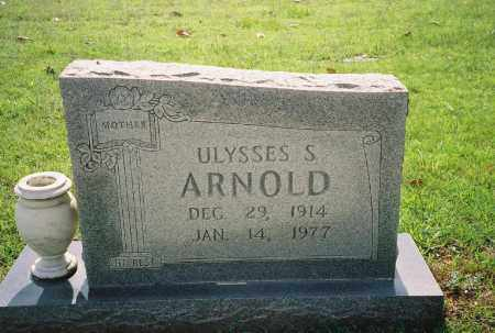 ARNOLD, ULYSSES S. - Weakley County, Tennessee   ULYSSES S. ARNOLD - Tennessee Gravestone Photos