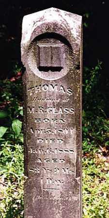 GLASS, THOMAS - Weakley County, Tennessee | THOMAS GLASS - Tennessee Gravestone Photos