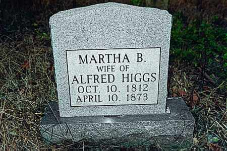HIGGS, MARTHA BATES - Weakley County, Tennessee | MARTHA BATES HIGGS - Tennessee Gravestone Photos
