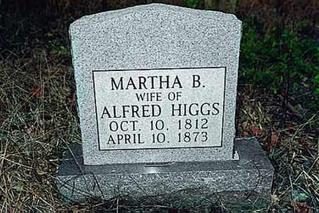 HIGGS, MARTHA BATES - Weakley County, Tennessee | MARTHA BATES HIGGS - Tennessee Gravestone Photos