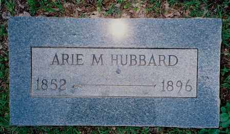 ARNOLD HUBBARD, ARIE M. - Weakley County, Tennessee   ARIE M. ARNOLD HUBBARD - Tennessee Gravestone Photos