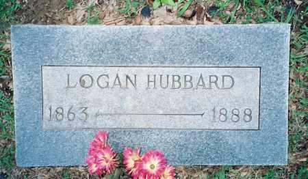 HUBBARD, JOHN A. LOGAN - Weakley County, Tennessee   JOHN A. LOGAN HUBBARD - Tennessee Gravestone Photos