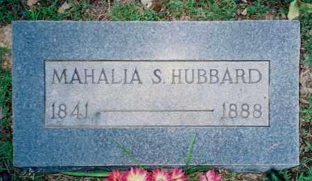 HUBBARD, MAHALIA S. - Weakley County, Tennessee | MAHALIA S. HUBBARD - Tennessee Gravestone Photos