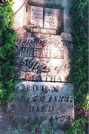 MARTIN LATHAM, SARAH FRANCES - Weakley County, Tennessee | SARAH FRANCES MARTIN LATHAM - Tennessee Gravestone Photos