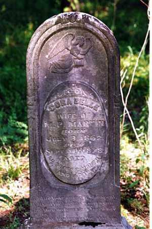 MARTIN, CORA BELLE - Weakley County, Tennessee | CORA BELLE MARTIN - Tennessee Gravestone Photos