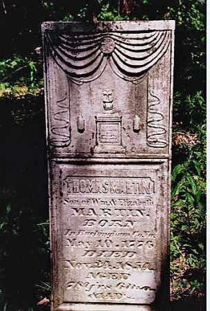 MARTIN, THOMAS - Weakley County, Tennessee | THOMAS MARTIN - Tennessee Gravestone Photos