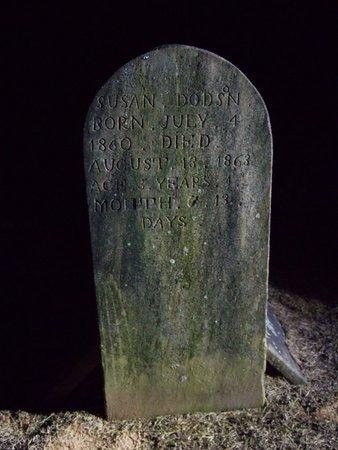 "DODSON, ELIZABETH ""SUSAN"" - White County, Tennessee | ELIZABETH ""SUSAN"" DODSON - Tennessee Gravestone Photos"