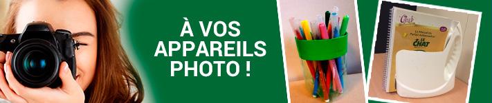 Concours photo : donnez une seconde vie à vos bouteilles et flacons en verre ou en plastique