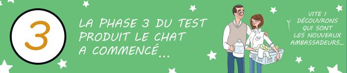 Faites-vous partie des ambassadeursLe Chat Eco-Efficacité ?