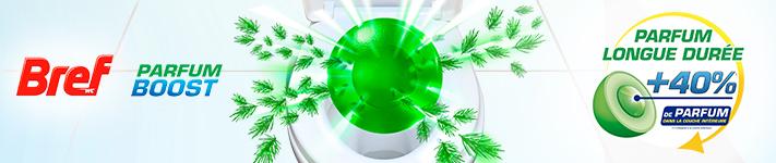 Nouveauté Bref WC Power Activ' Parfum Boost