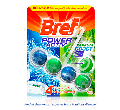 Avis - BREF WC Power Activ' Parfum Boost