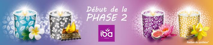 La phase 2 du test produit sur les bougies IBA  vient de débuter