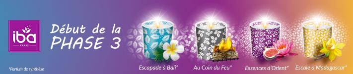 Êtes-vous ambassadeur des bougies Iba «effet photophore»?