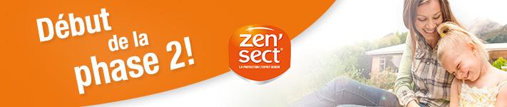La phase 2 du test produit Zen'Sect commence !