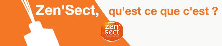 La gamme de produits de la marque Zen'Sect