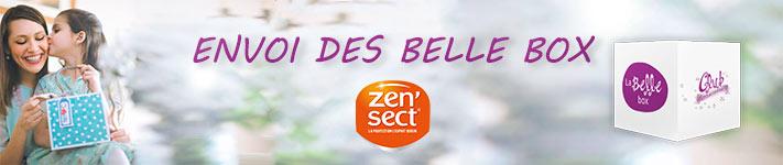 Les Belle Box Zen'Sect sont en cours d'envoi !