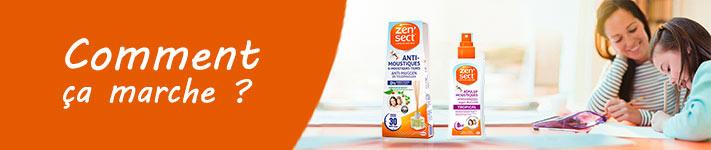 Comment utiliser le diffuseur capillaire et la lotion corporelle anti-moustiques Zen'Sect ?
