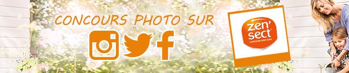 NOUVEAU : Concours photo sur Instagram / Facebook / Twitter