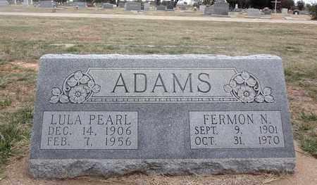 ADAMS, FERMON NEWT - Archer County, Texas | FERMON NEWT ADAMS - Texas Gravestone Photos