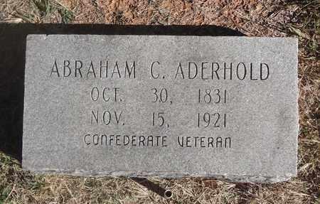 ADERHOLD (VETERAN CSA), DR ABRAHAM CONRAD - Archer County, Texas | DR ABRAHAM CONRAD ADERHOLD (VETERAN CSA) - Texas Gravestone Photos