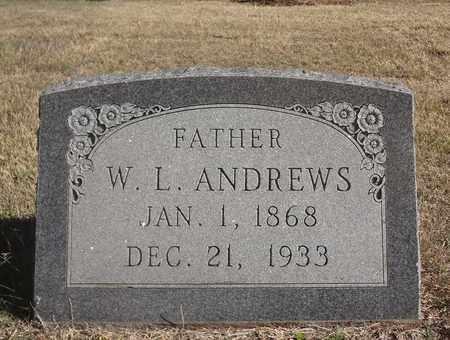 ANDREWS, WILLIAM L - Archer County, Texas   WILLIAM L ANDREWS - Texas Gravestone Photos