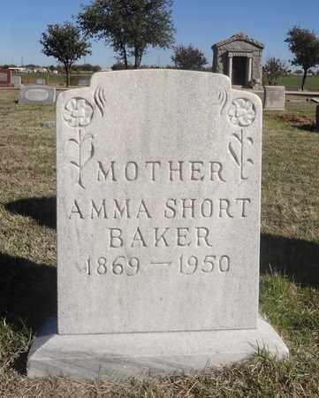 SHORT BAKER, AMMA - Archer County, Texas | AMMA SHORT BAKER - Texas Gravestone Photos