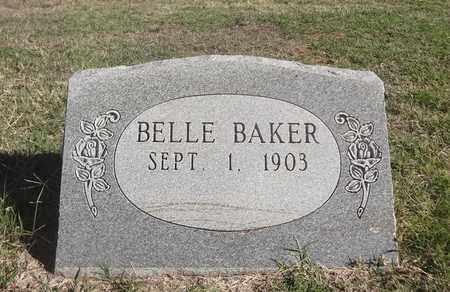 CLARY BAKER, BELLE - Archer County, Texas   BELLE CLARY BAKER - Texas Gravestone Photos