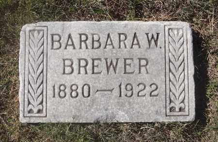 WILLIAMS BREWER, BARBARA - Archer County, Texas   BARBARA WILLIAMS BREWER - Texas Gravestone Photos