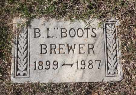 "BREWER, BUFORD LEWIS ""BOOTS"" - Archer County, Texas 